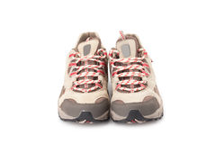 A pair of hiking shoes Stock Photo