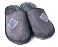 Pair of home slippers Royalty Free Stock Photography