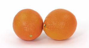 Pair of Hybrid Tangelo Fruit Royalty Free Stock Image