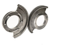 Worm Gear wheels Royalty Free Stock Photography