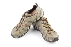 A pair of jogging shoes Royalty Free Stock Photos