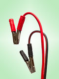 Pair of jumper cables Stock Images