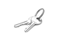 A pair of keys Royalty Free Stock Photos