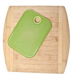 Pair of Kitchen Cutting Boards Royalty Free Stock Photo