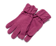 Pair knitted Gloves are Royalty Free Stock Photo