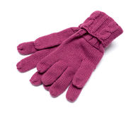 Pair knitted Gloves are Stock Photography