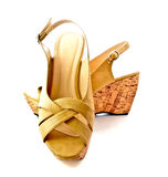 Pair of lady shoes 1 Royalty Free Stock Image
