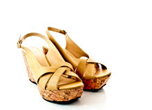 Pair of lady shoes 2 Royalty Free Stock Images
