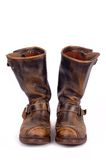 Pair of leather Boots Royalty Free Stock Image