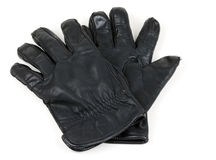 Pair of leather gloves Royalty Free Stock Images