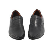 Pair of leather man shoes isolated Royalty Free Stock Image