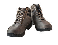 A pair of leather men's shoes Royalty Free Stock Photos