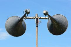 Pair of loudspeakers Stock Images