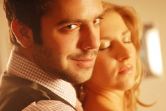 A pair in love Royalty Free Stock Photos