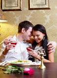 Pair of lovers Royalty Free Stock Photography