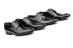 Pair of male shoes Royalty Free Stock Photography