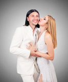 Pair of man and woman Royalty Free Stock Photography