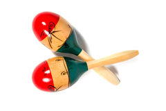 Pair of maracas Stock Photography