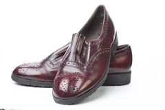 Pair of Men`s Shoes Royalty Free Stock Photo