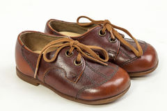 Pair of Men`s Shoes Stock Photography