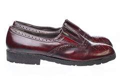 Pair of Men`s Shoes Royalty Free Stock Images