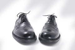 Pair of Men's Shoes Royalty Free Stock Images