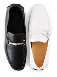 A pair of moccasins royalty free stock images