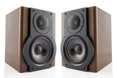 Pair of music speakers Stock Image