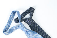 Pair of neck tie Stock Photo