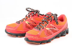 Pair of New Balance Shoes. For running and outdoor activities Royalty Free Stock Photography