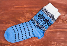 Pair of new socks Stock Image