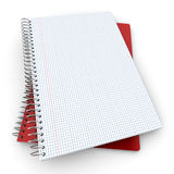Pair of notebooks Stock Photography