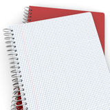 Pair of notebooks Royalty Free Stock Image