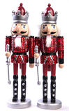 A pair of nut cracker (isolated) Royalty Free Stock Photo