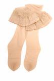 Pair of nylon stockings. Stock Photos