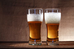 Pair Of Beer Stock Photo