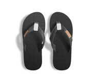 Free Pair Of Blank Grey Slippers, Design Mock Up, Clipping Path. Stock Photography - 74254162
