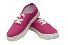 Free Pair Of Canvas Shoes Stock Photos - 44827693