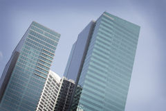 Free Pair Of Generic Office Building Royalty Free Stock Photos - 14298658