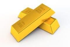 Free Pair Of Gold Bars Stock Photos - 22319843
