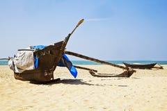 Free Pair Of Moored Fishermans Catamarans Moored On Stock Photo - 29291160