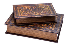 Pair Of Old Books Royalty Free Stock Photography