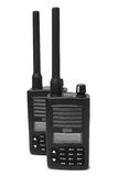 Pair Of Portable Radio Transmitters Royalty Free Stock Photo