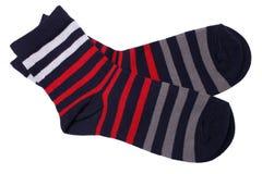 Free Pair Of Striped Socks Royalty Free Stock Photos - 54842588