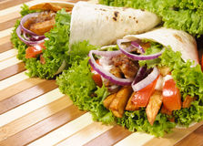 Pair Of Tortilla Stock Images