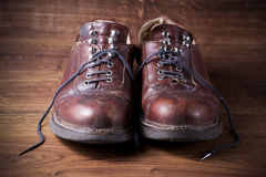 A pair of old boots Stock Photography