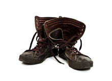 A pair of old sneakers Royalty Free Stock Photo
