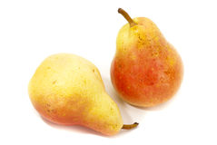 Pair of pears Royalty Free Stock Photos
