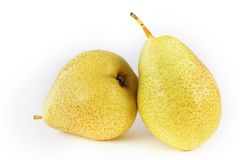 A pair of pears Stock Photography