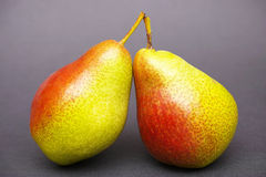 Pair of pears Royalty Free Stock Images